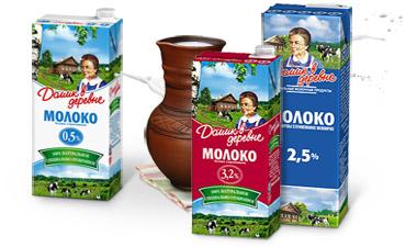 Молочные продукты «Домик в деревне»